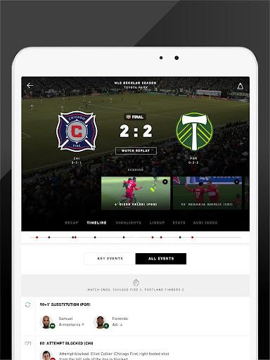 MLS: Live Soccer Scores & News 18.66.2 screenshots 9