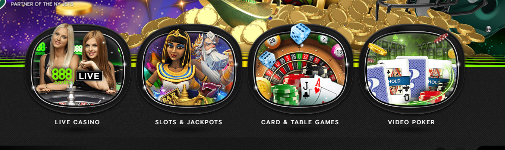 888Casino Registration