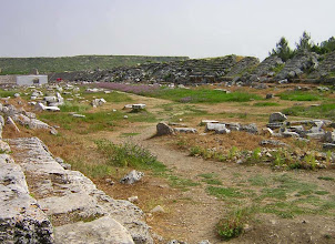 Photo: Perge Stadium, well preserved