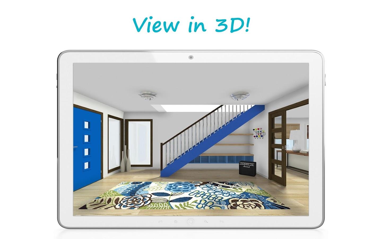 roomsketcher home designer android apps on google play. Black Bedroom Furniture Sets. Home Design Ideas