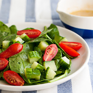 Indian Cumin-Spiced Spinach Salad