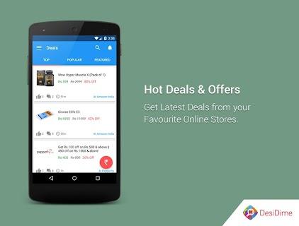 DesiDime Deals & Coupons screenshot 01