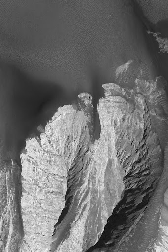 Landforms in East Candor
