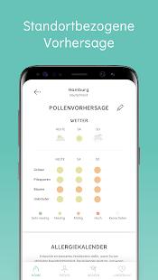 Klara - deine Pollenvorhersage Screenshot