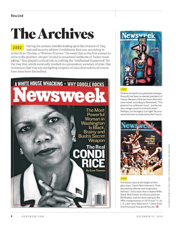 Newsweek – знімок екрана