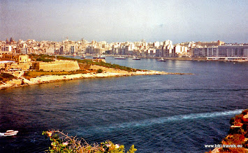 Photo: 1996-07-07. Valletta. Fort Manoel.  www.loki-travels.eu