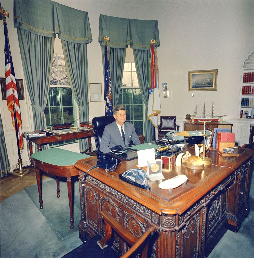 Alluring 60 Oval Office Desk Inspiration Of From