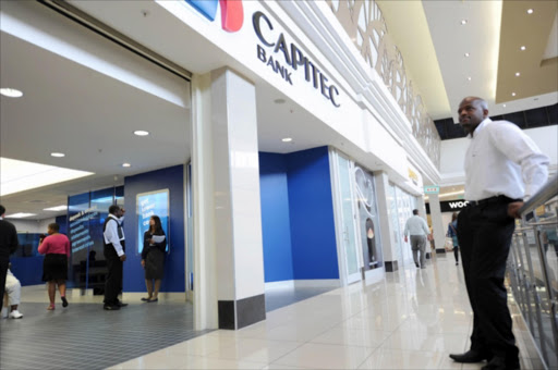An Capitec branch on January 25, 2012 in Johannesburg, South Africa.