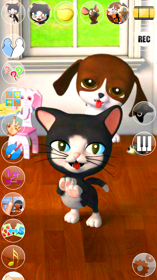 Talking Cat & Background Dog- screenshot