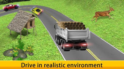 Lorry Truck Driver Cargo Free apk screenshot 8