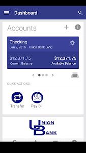 Union Bank Go App screenshot 1