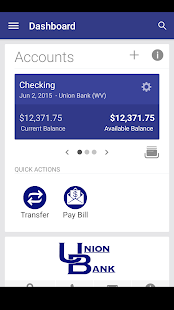 Union Bank Go App- screenshot thumbnail