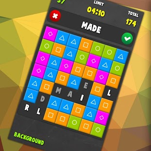 Puzzle Words PRO Screenshot