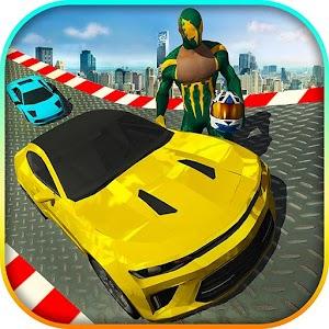 Cop Cars Hero Stunts Simulator: Racing Games