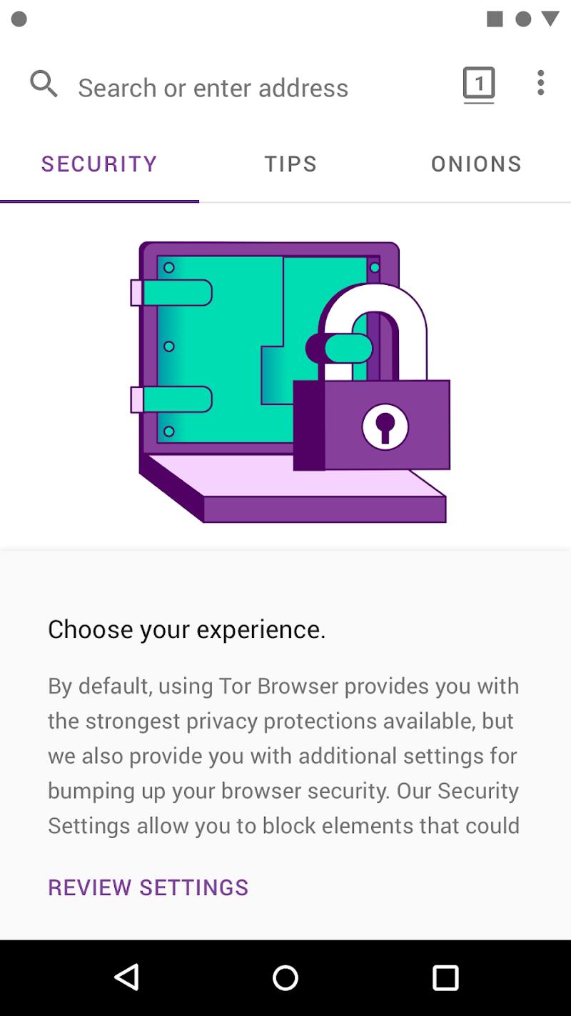 Tor Browser (Alpha) Screenshot 4