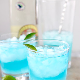 Carolina Blue Cocktail.
