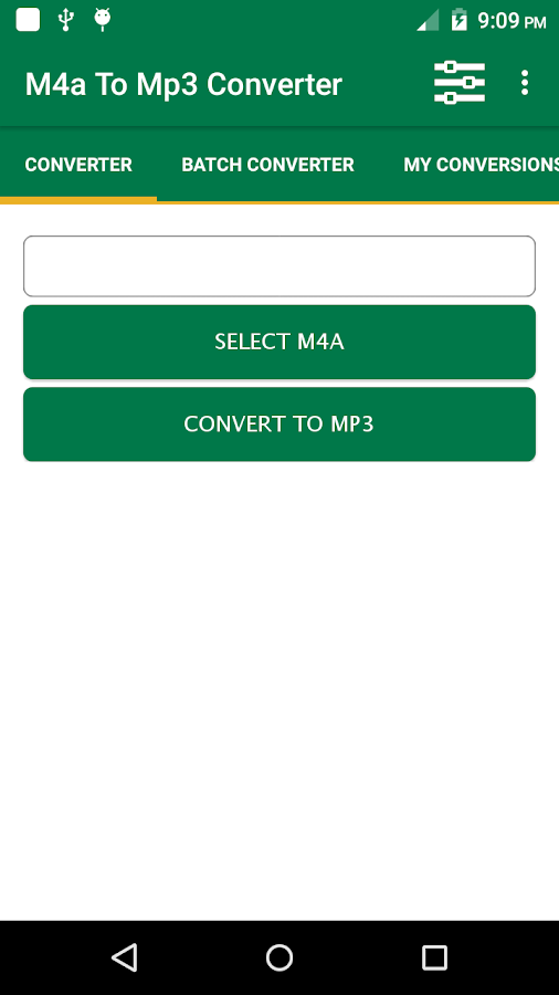 m4a to mp3 converter android apps on play