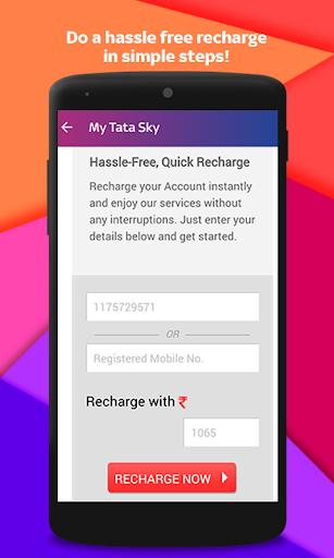 Tata Sky Mobile- Live TV, Movies, Sports, Recharge screenshot 7