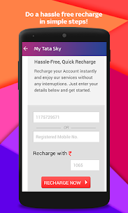 Tata Sky Mobile- Live TV, Movies, Sports, Recharge  App Download For Android and iPhone 6