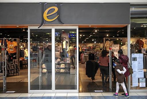 Jet, which is owned by the Edcon Group, has experienced a tumbling in sales it attributes to the hard lockdown. / Gallo Images / Papi Morake