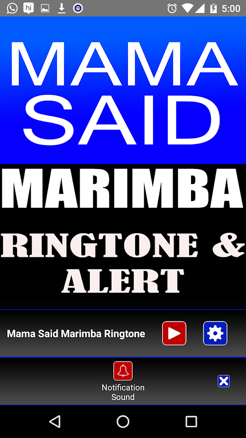 Download Ringtone A Song For Mama