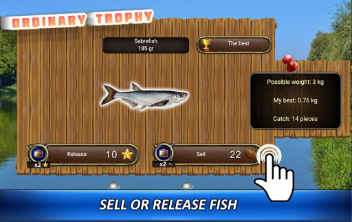 Fishing rain - fishing simulator apkpoly screenshots 4