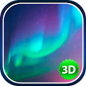 3D Northern Lights Wallpaper