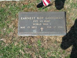 Photo: Goodman, Earnest Roy