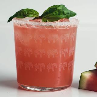 Watermelon & Basil Margarita [RECIPE]