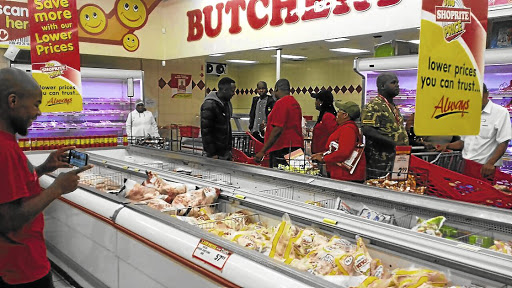 EFF members had previously invaded certain Shoprite supermarkets, claiming to be helping them throw away all Rainbow and Enterprise products following the findings on listeriosis. Picture: SUPPLIED