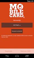 Screenshot of MobileCard