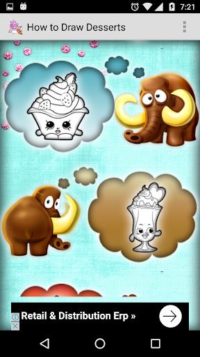 玩免費遊戲APP|下載How to Draw Desserts app不用錢|硬是要APP