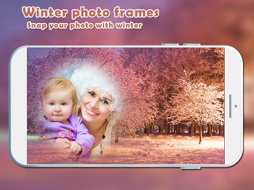 Winter Photo Frames New