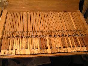 Photo: Klaviatura běhen restaurování