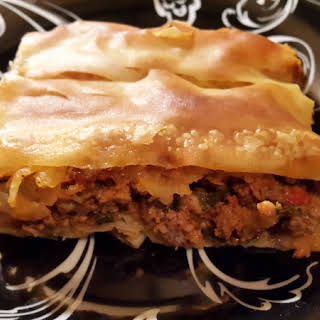 Spicy Ground Meat Pie.