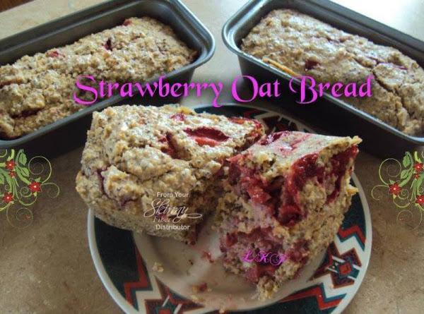 Strawberry Oat Bread By Marcine Jenis Recipe