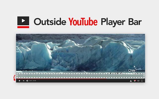 Outside YouTube Player Bar