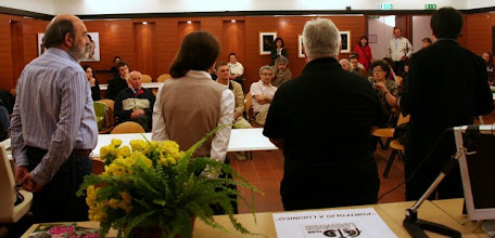 Photo: i discorsi finali con la lettura degli Autori selezionati