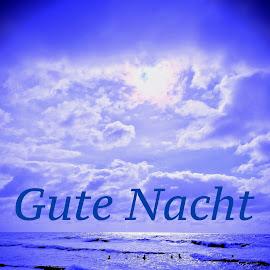 Gute Nacht by Marianne Fischer - Typography Words