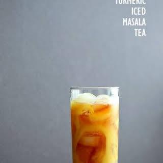 Cardamom Cinnamon Turmeric Iced Tea.