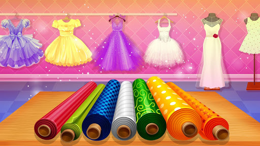 Wedding Dress Tailor Shop: Design Bridal Clothes 1.0.6 screenshots 4