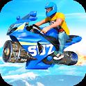Jet Hover Bike Racing - Mega Ramp Racing Stunts icon