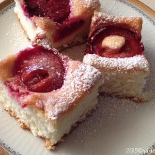 Plums Coffee Cake