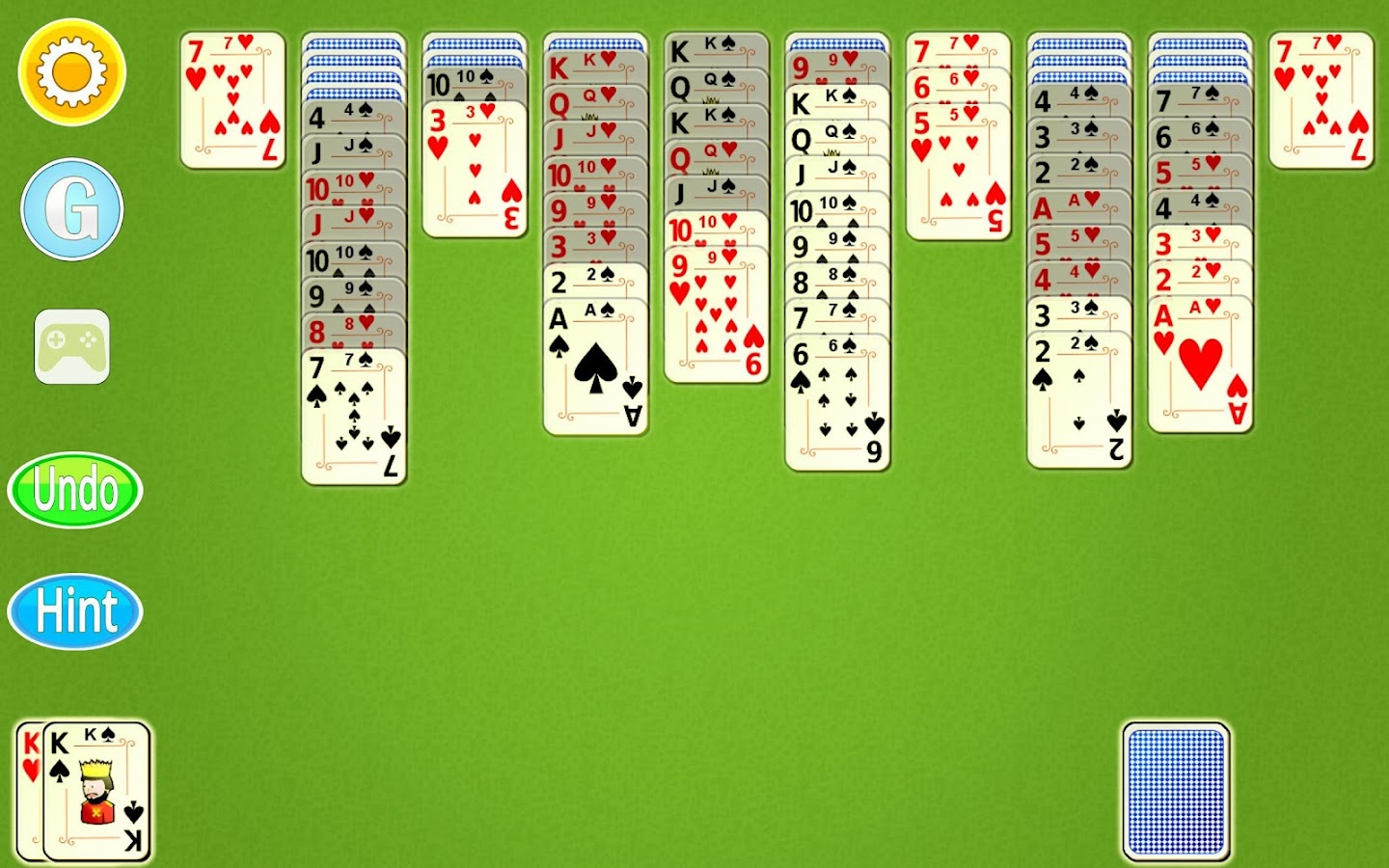 how to play spider solitaire one suit