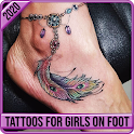 Tattoos Ideas For Girls On Foot 2020 icon