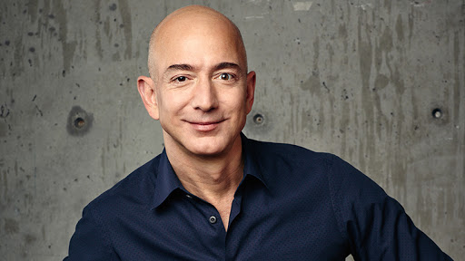 Jeff Bezos, founder and CEO of Amazon.