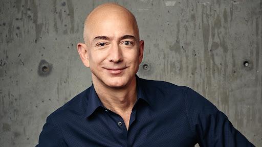 Jeff Bezos, Blue Origin founder.