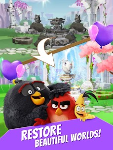 Angry Birds Match MOD (Unlimited Money) 10