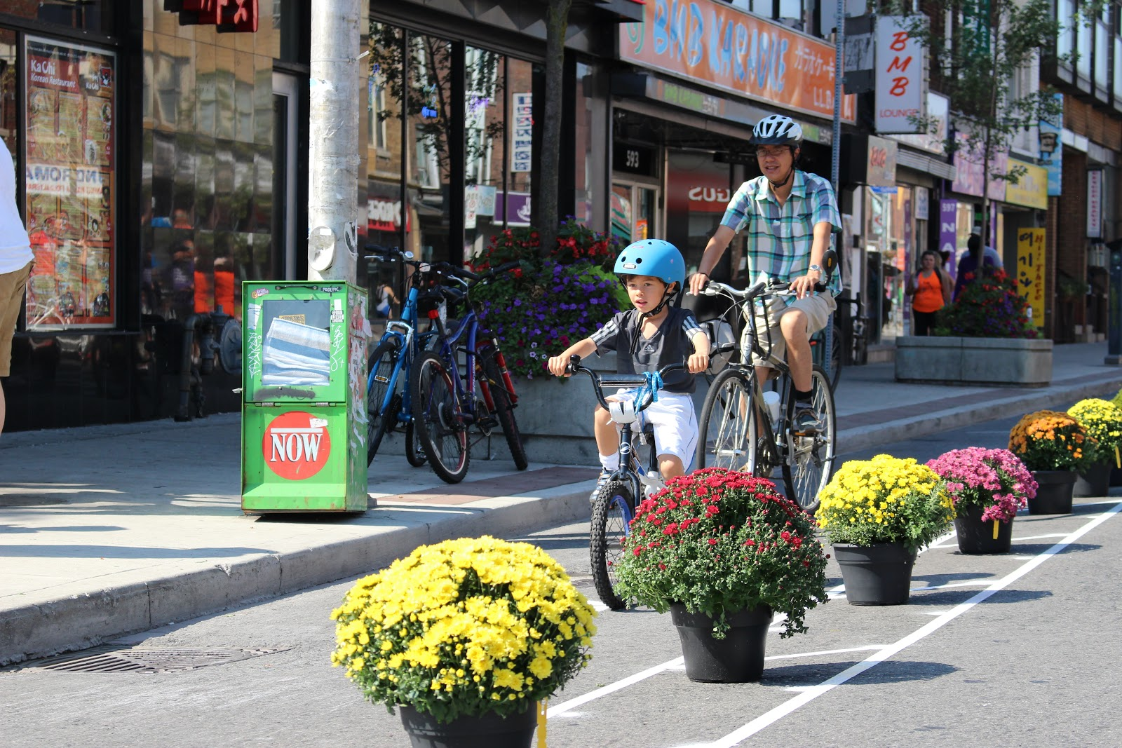 Bloor Bike Lane pop up at open streets - jared's photo.jpg