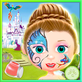 Princess Face Tattoo Paint